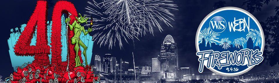 WEBN Fireworks 2016 Menu